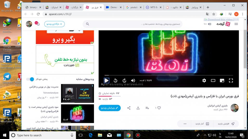 فرق بین بورس ایران با فارکس و باینری آپشن